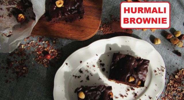 Şekersiz Hurmalı Brownie