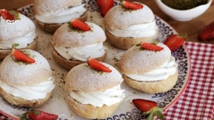 Mini Kremalı Pasta Tarifi