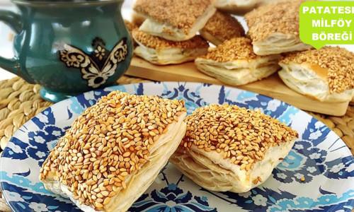 Patatesli Milföy Böreği Tarifi