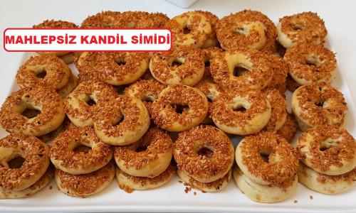 Mahlepsiz Kandil Simidi Tarifi