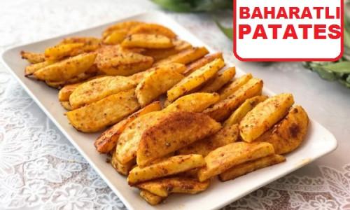 Baharatlı Fırında Patates