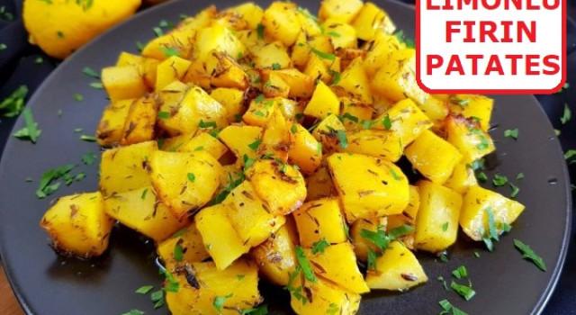 Limonlu Fırın Patates